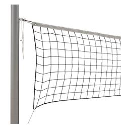 Volleyballnett 9,5 m. Sort nylon